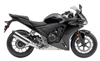 Honda CBR500R Solid Black Fairings