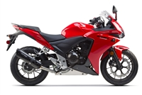 Honda CBR500R Red Fairings