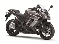 Kawasaki Z1000 SX Charcoal Silver Fairings