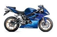 Plasma Blue Triumph Daytona 675 Fairings