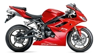 Triumph Daytona 675 Gloss Red Fairings