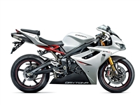 White/Black Triumph Daytona 675 Fairings