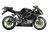 Black Triumph Daytona 675 Fairings
