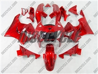 Candy Red Honda CBR900RR Motorcycle Fairings