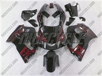 Suzuki Airbrush Red SRAD GSX-R 600 750 Fairings
