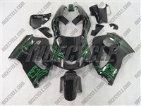 Airbrush Green Suzuki SRAD GSX-R 600 750 Fairings