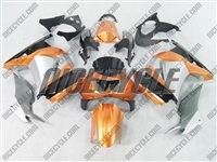 Ninja 250R Metalic Orange/Silver Fairings