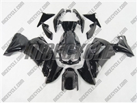 Kawasaki Ninja 650R Solid Black Fairings
