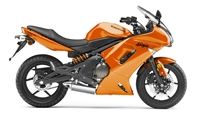 Kawasaki Ninja 650R Burnt Orange Fairings