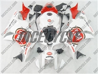 Honda CBR600RR White Lucky Strike Fairings
