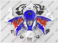 Blue/Red/White Honda CBR1000RR Motorcycle Fairings