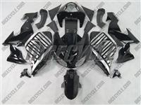 Kawasaki ZX10R Black Barcode Fairings