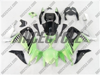 Kawasaki ZX10R Green/Black/Silver Fairings
