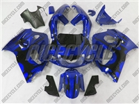 Suzuki Candy Blue Tribal SRAD GSX-R 600 750 Fairings