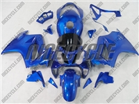Electric Blue Honda VFR-800 Motorcycle Fairings
