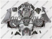 Honda CBR600RR Charcoal Silver Tribal Fairings