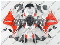 Honda CBR600RR White/Red Fairings
