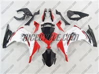 Kawasaki Ninja 300 Red/White Fairings