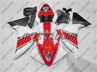 Yamaha YZF-R1 Red White Fairings