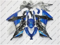 Ninja 300 Blue Special Edition SE Fairings