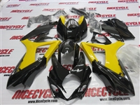 Suzuki GSX-R 1000 Yellow/Black Fairings