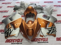 Suzuki GSX-R 1300 Hayabusa Copper/Silver Fairings