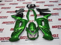 Kawasaki Ninja 650R Plasma Green Fairings