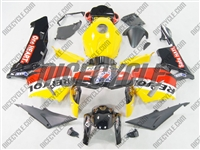 Honda CBR600RR Yellow Repsol Replica Fairings