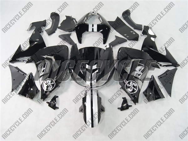 2006-2007 Kawasaki ZX10R Ruff Ryders Fairings | # 2813