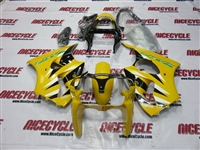 Kawasaki ZX6R Yellow Fairings