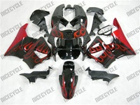 Honda CBR900RR Red Flame Fairings