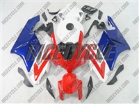 Honda CBR 1000RR Blue/Red/White Fairings