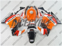 Honda CBR600 F2 Repsol Orange Fairings