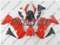 Kawasaki Ninja 650R Gloss Red Fairings