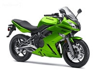 Metallic Green Kawasaki Ninja 650R Fairings