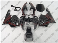 Kawasaki ZX-7R Airbrush Red Fairing