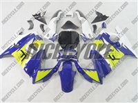 Honda CBR600 F3 Purple/Neon Green Fairings