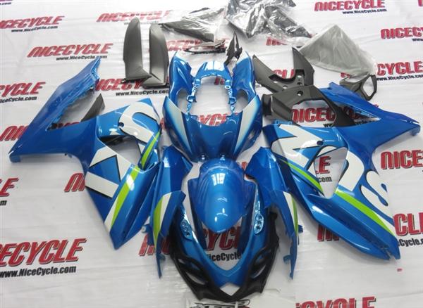 Honda Grom Price >> 2009-2016 Suzuki GSXR 1000 Metallic Blue OEM Style Fairings