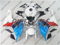 Honda CBR1000RR Blue/Red Fairings
