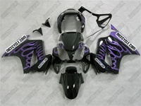 Honda VFR-800 Big Purple Flame Fairings