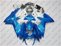 Plasma Blue Suzuki GSX-R 600 750 Fairings