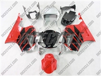 Red/Black/Silver Honda RC51/VTR1000 Fairing