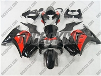 Ninja 250R Black/Red Fairings