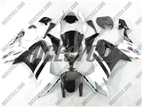 Kawasaki ZX10R White/Black Monster-ous Fairings