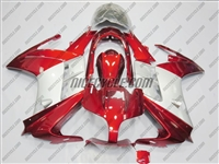 Yamaha FJR1300 Candy Red/Silver Fairings