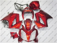 Honda VFR-800 OEM Style Candy Red Fairings