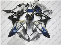 BMW S1000RR Dark Silver/Blue Fairings