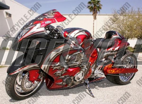 Custom Motorcycle Seats Suzuki