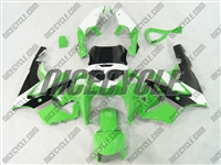 Kawasaki ZX-7R White/Green Fairing
