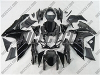 Black Suzuki GSX-R 600 750 Fairings